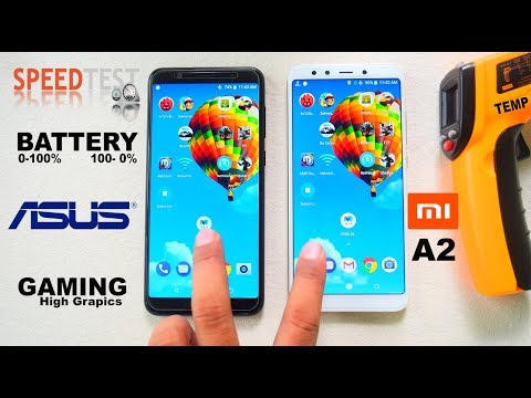 MIA2 vs ASUS ZENFONE MAX PRO - Extreme Speed#Battery charging/drain#Gaming