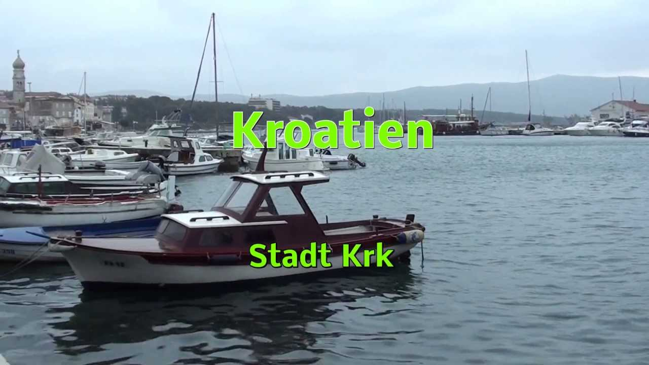 kroatien stadt krk youtube. Black Bedroom Furniture Sets. Home Design Ideas