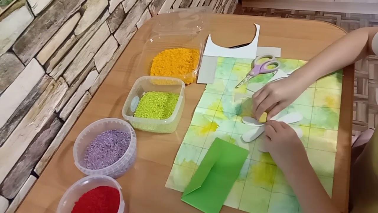 Разноцветная ромашка для феи лет🌼 - YouTube