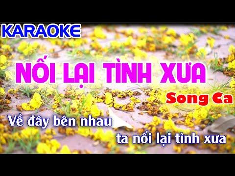 Karaoke Nhạc Sống - Nối Lại Tình Xưa  (Song Ca) - Điệu Cha Cha Hay Nhất 2019