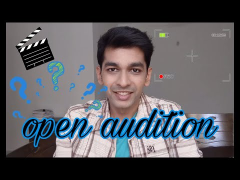 What to expect at an open audition ? Open audition mei kya hota hai ? English Subtitles