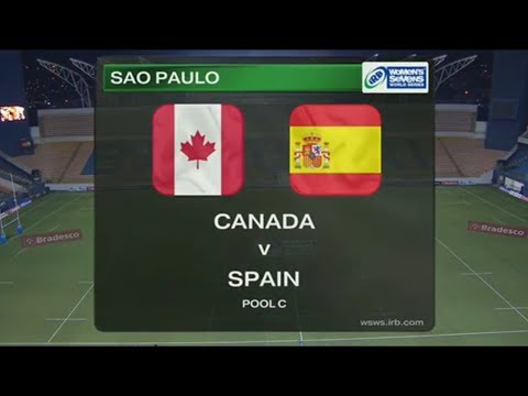 Canada vs Spain - Rugby Women´s Sevens World Series Sao Paulo 2014