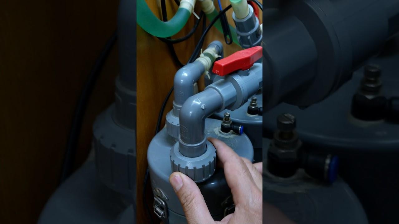 Hướng dẫn chế lọc cho bể thủy sinh bằng ống PVC p2.1 mới