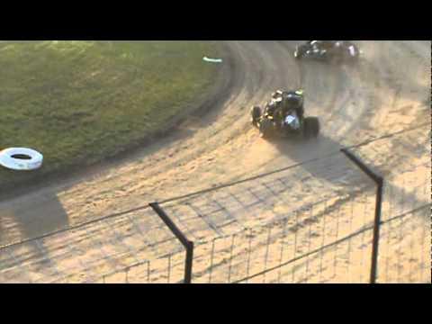 KAM Raceway Heat 1b- Middleton/ Peshek Wreck Micro-Sprint