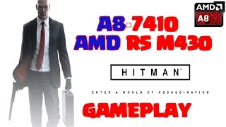 Hitman Gameplay on Lenovo Ideapad 110 | Low End PC