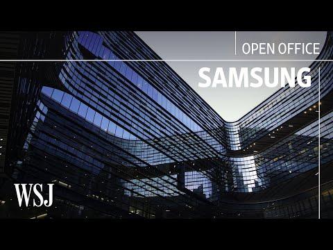 Inside Samsung's Futuristic $300 Million Office | Open Office | WSJ