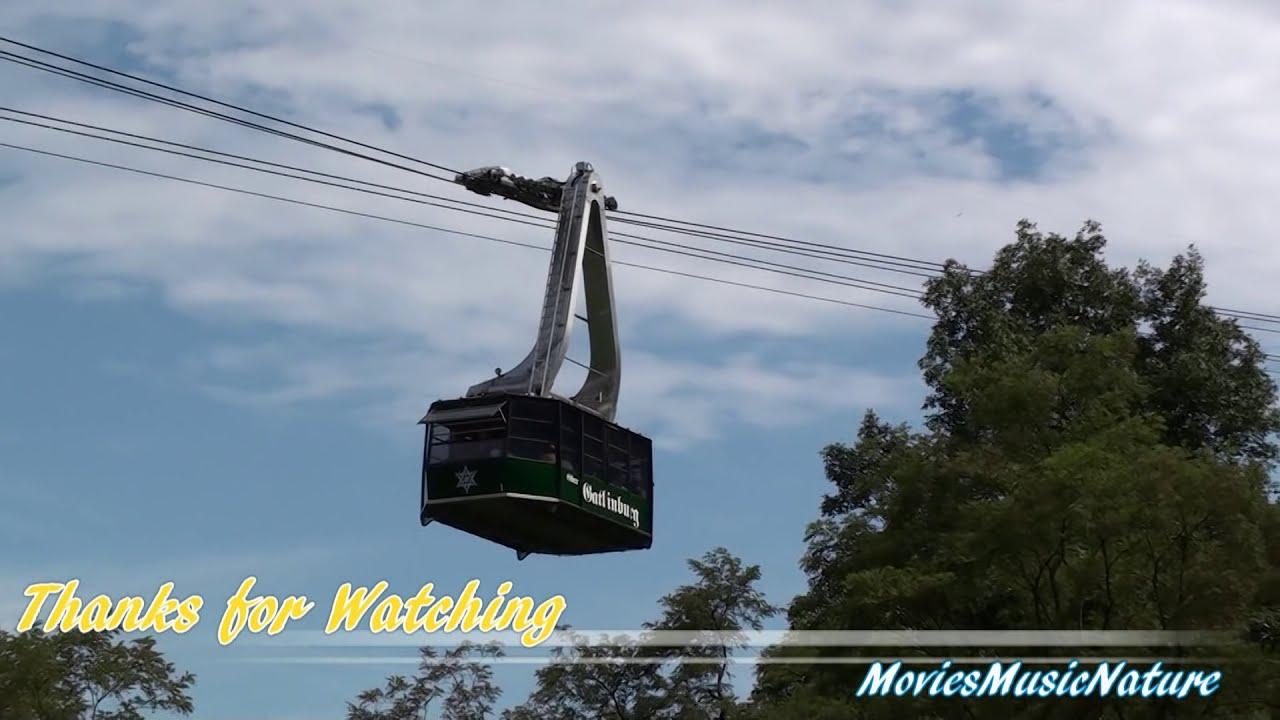 Aerial Tram Ride To Ober Gatlinburg Youtube