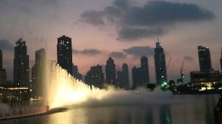 Fountain Show - The Dubai Mall