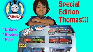 Thomas & Friends Special Edition Thomas trackmaster gift sets unbox review play