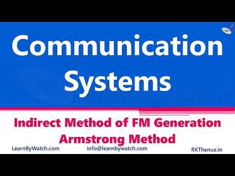 InDirect Method Of FM Generation Armstrong Method|Hindi/Urdu|Communication System By RajKumar Thenua