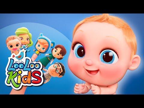 Finger Family - THE BEST Songs for Children | LooLoo Kids