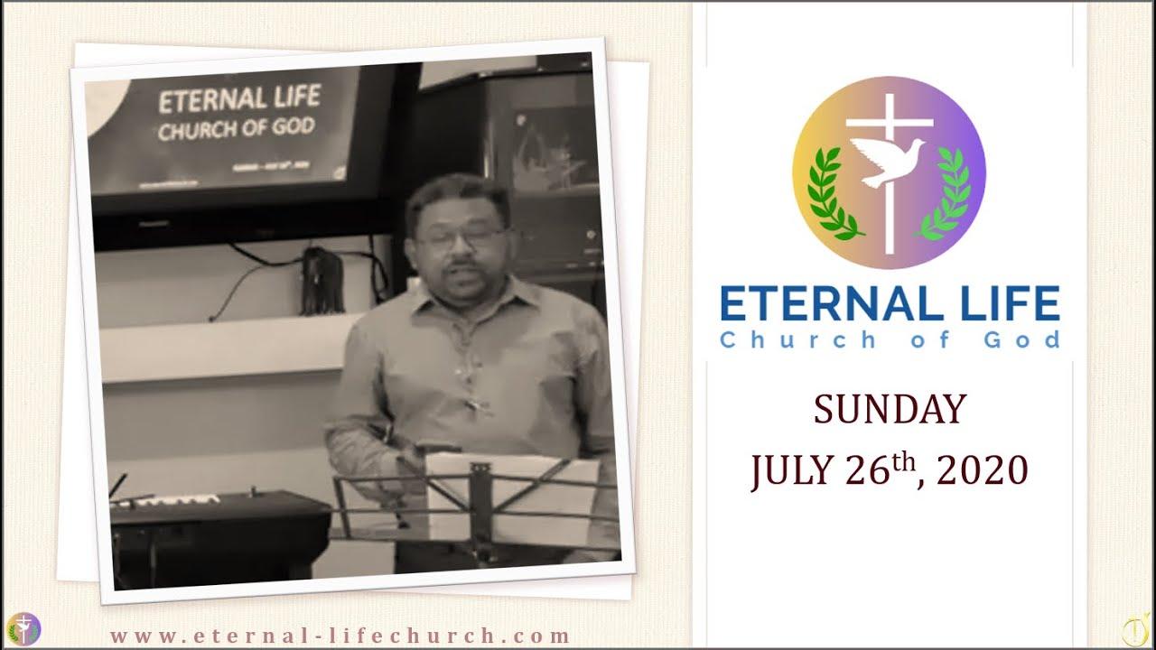 Mai Yeshu ke sath noor mei chalunga - Hindi Song - Sunday Worship 7/26/2020