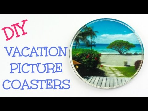 DIY Vacation Picture Coasters   Another Coaster Friday Craft Klatch