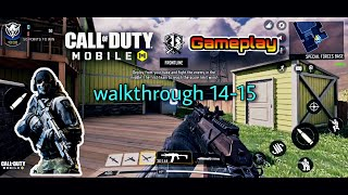 call of duty mobile gameplay | walkthrough part - 14-15 hard point (ios)