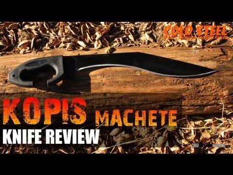 Cold Steel Kopis Kukri Machete Review | OsoGrandeKnives
