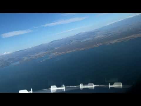 Landing in Podgorica, Montenegro (cockpit view)