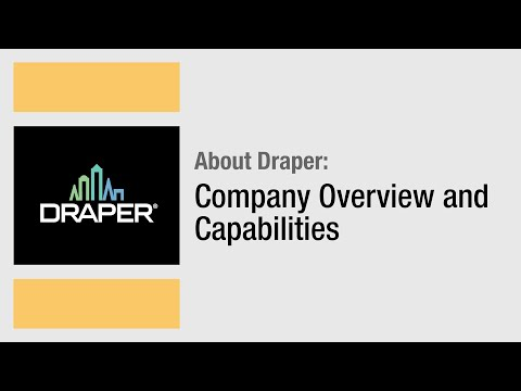Draper, Inc. - Company Overview and Capabilities