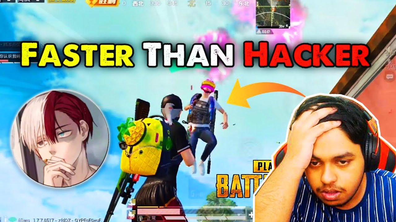 WAN Qiu Gaming Assaulting Hacker BEST Moments in PUBG Mobile