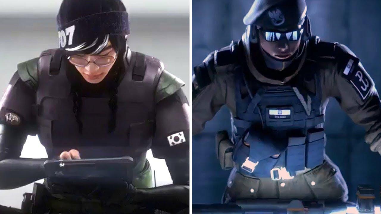 Two New Operators Zofia Dokkaebi Rainbow Six Siege Youtube