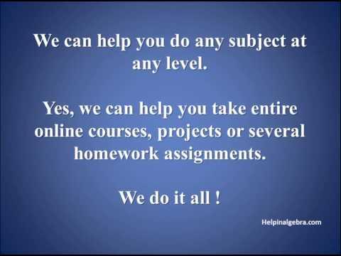 Need Help With Trigonometry Homework ||Helpinalgebra.com.