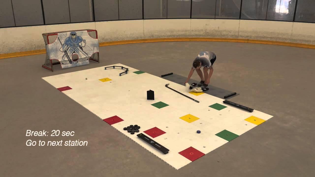 My training zone by hockey revolution youtube dailygadgetfo Gallery