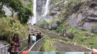 蓬萊瀑布a 雲林古坑草嶺風景區 古坑旅遊 三點鐘的影音