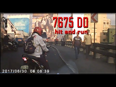 Hit and Run Reckless Rider on C5 Plate no: 7675DO