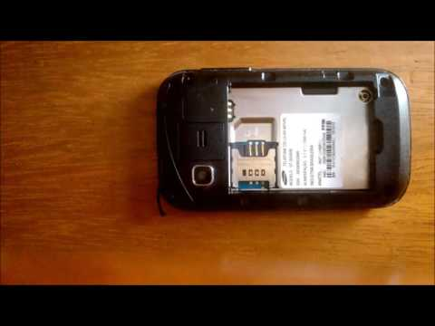 Desmontar SAMSUNG Galaxy Pocket GT-S5300B Trocar display LCD