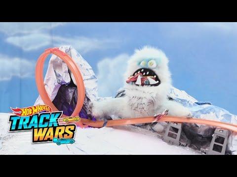 Przygoda na lodzie  Track Wars  Hot Wheels