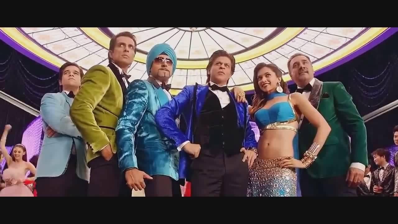 india waale trke altyazl song happy new year shah rukh khan deepika padukone youtube