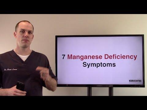 7 Manganese Deficiency Symptoms