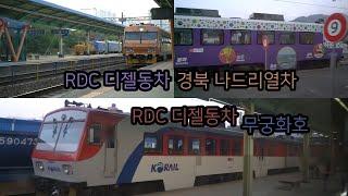 RDC 디젤동차 | 경북 나드리열차 | 9034호 + …