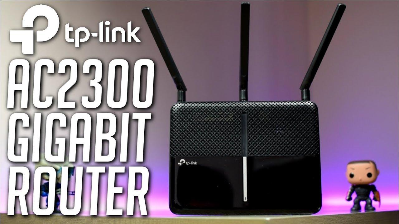 TP-Link Archer C2300 Gigabit Wifi Router - Powerfull