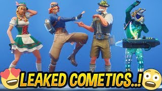 *NEW* Season 6 EMOTES & SKINS (Smooth Moves, Drop The Bass, Something Stinks...) - Fortnite
