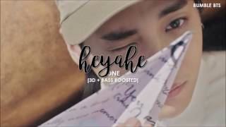 Video [3D+BASS BOOSTED]  ONE - HEYAHE (해야해) | bumble.bts download MP3, 3GP, MP4, WEBM, AVI, FLV Maret 2018