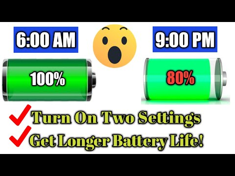 How To Increase Battery Life On Android Phone 2019