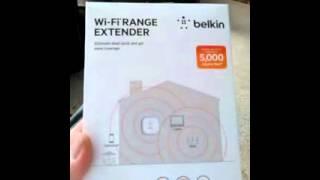 tutorial on belkin range extender n300