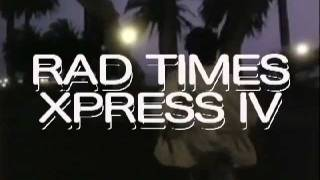 "Black Bananas ""Rad Times Xpress IV"" Promotional video"