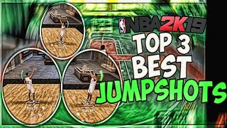 TOP 3 BEST JUMPSHOT ON NBA 2K19 AFTER THE PATCH! NBA 2K19 BEST JUMPSHOT FOR ALL ARCHETYPES
