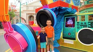 Christmas Amusement Park Sesame Street Ride Fun Playtime With CKN Toys