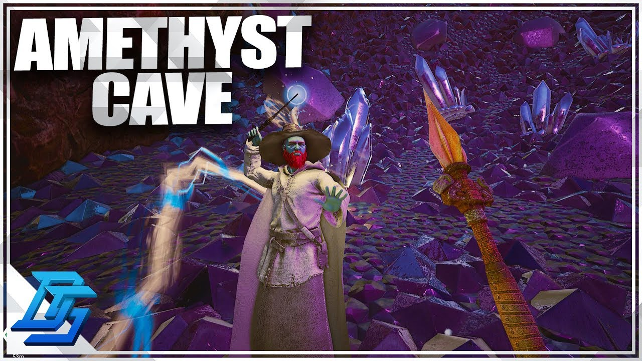 How To Get Amethyst Easy Crystal Cave Citadel Forged With Fire
