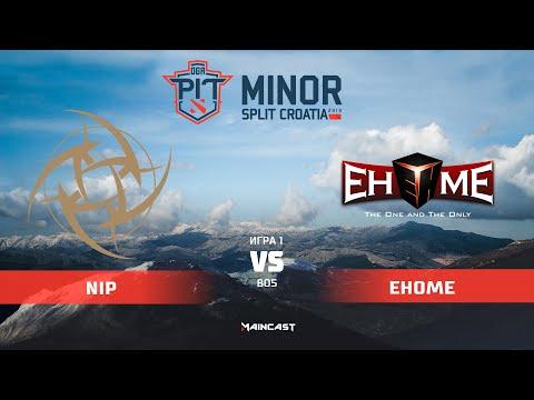 NiP vs EHOME - OGA Dota PIT Minor - Game 1