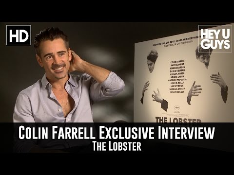 Colin Farrell Exclusive Interview - The Lobster