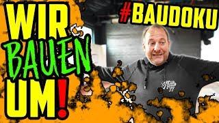 WIR BAUEN UM! - Große Veränderungen für die Werkstatt! #BAUDOKU