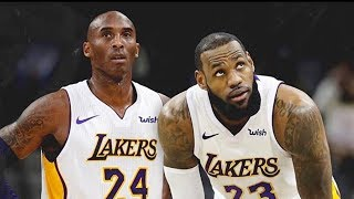 Kobe Bryant Returns to NBA and Joins LeBron James on the Lakers (Parody)