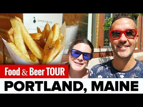 The BEST Food & Beer in PORTLAND, Maine