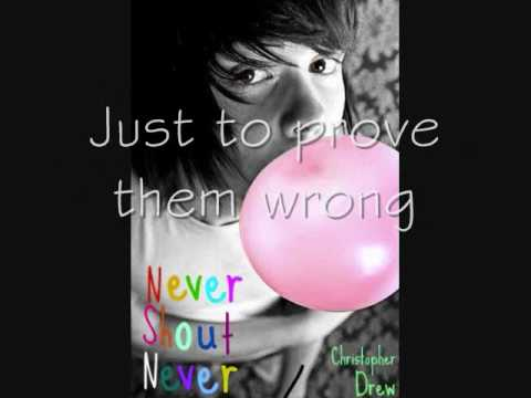 Nevershoutnever The Past (lyrics)