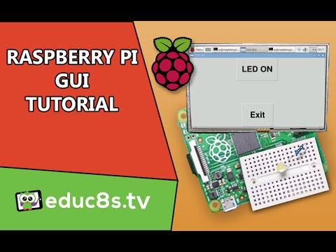 Raspberry Pi Tutorial: Create your own GUI (Graphical User Interface) with  TkInter and Python