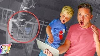 Haunted Break In At Our New Studio!! (CAUGHT ON CAMERA!)