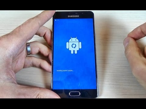 Samsung Galaxy A3, A5, A7  (2016) - How to reset to factory settings